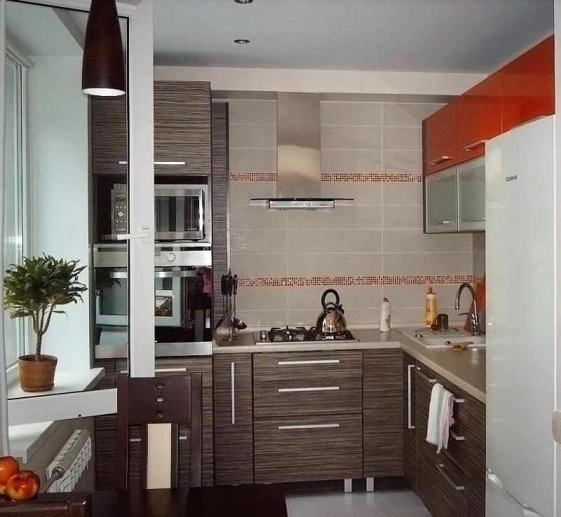 Дизайн кухонь брежневок