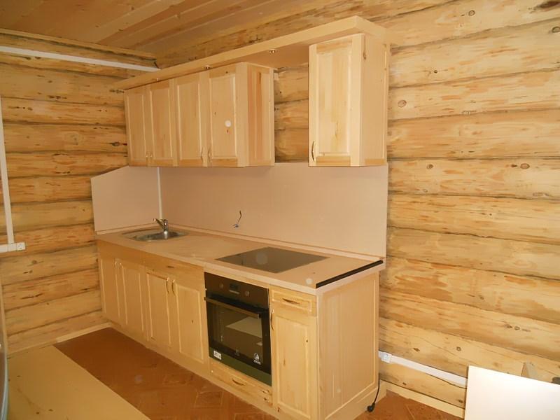 Сделать деревянную кухню своими руками