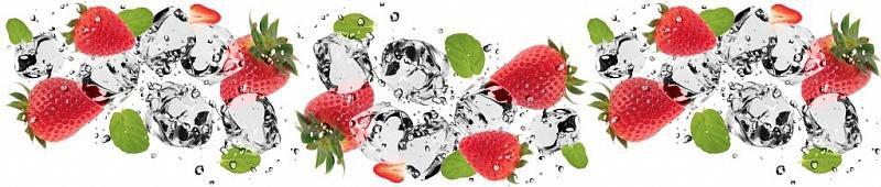стеновая фото панель лед с фруктами