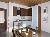 Цена кухню №68 FUZZ 51500Р. Цена по Акции за весь гарнитур  37000 РУБ
