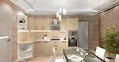 Цена на кухню № 71 Туя Классик 42989р. Цена по Акции за весь гарнитур 35000 руб.