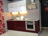 Кухня № 27 Летний Дождь - кухня МДФ фасады супер глянец     37866 р. по Акции цена  35215р.
