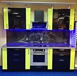 Кухня № 47 Кухня 2400 мм Черный+Лайм 36330 р. по Акции цена 33786 р.