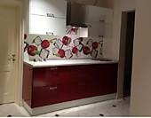 Кухня № 25 Кухня прямая фасады пластик (Бордо 2200 мм) 28700р. по Акции цена 26691 р.
