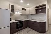 Кухонный гарнитур №223 МДФ/рамочный фасад/бежевый/коричневый. Цена: 44100 руб.