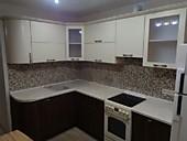 Кухонный гарнитур №231 МДФ/Санома дуб/бежевый. Цена: 44800 руб.