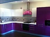 Кухонный гарнитур № 238 пластик/глянец/серень/белый Цена: 85400 руб.