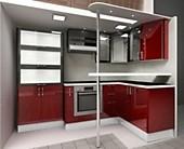 Кухня № 34 Концепт - Бордо 61555р. по Акции цена 57246 р.