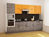 Цена на кухни №128 Манго и Кофру 52320 р. Цена по Акции за гарнитур 46000 руб.