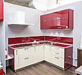 Цена на кухни № 130 Бордо и Бежевый 42076 р. Цена по Акции за гарнитур 37000 руб.
