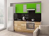 Цена на кухню № 134 Дерево и Яблоко 33900 р. Цена по Акции за гарнитур 29800 руб.