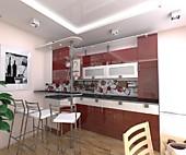 Цена на кухню № 156 Фрида 67000 р. Цена по Акции за гарнитур 47800 руб.