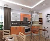 Цена на кухню № 160 38390 р. Цена по Акции за гарнитур 32450 руб.