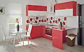 Цена на кухню № 120 Лео 43500 р. Цена по Акции за гарнитур 38600 руб.