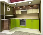 Цена на кухню  № 22 Концепт - Лайм Трио 23862 р. по Акции цена 22191 р.