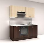 Цена на кухню № 1 Комплект Венге Микс 1800 мм - фасады ЛДСП 12268р. по Акции цена - 11409р.