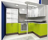 Кухня № 28 Концепт - Лайм Дуо              37950 р. по Акции цена 37153р.