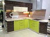 Кухня № 24 Кухня угловая фасады ЛДСП  Микс28531р. по Акции цена  26533 р.